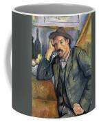 The Smoker Coffee Mug by Paul Cezanne