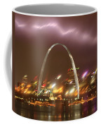 Thunderstorm Over The Arch Coffee Mug