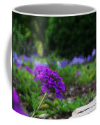 Violet Flower Coffee Mug