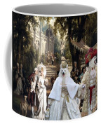 Volpino Italiano Art Canvas Print Coffee Mug
