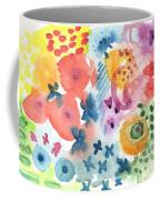 Watercolor Garden Coffee Mug by Linda Woods