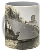 Yacht On The Water Coffee Mug