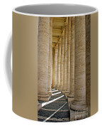 0056 Roman Pillars St. Peter's Basilica Rome Coffee Mug