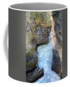 0142 Athabasca River Canyon Coffee Mug