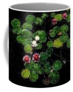 0151-lily - Embossed Sl Coffee Mug