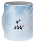 0161 - Air Show - Watercolor Coffee Mug