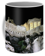 0212 The Acropolis Athens Greece Coffee Mug