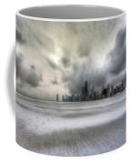 0242 Wintry Chicago Coffee Mug