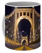 0304 Roberto Clemente Bridge Pittsburgh Coffee Mug