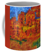 032 Abstract Landscape Coffee Mug