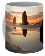 0385 Cannon Beach Reflection Coffee Mug