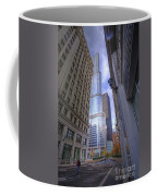 0527 Trump Tower From Wrigley Building Courtyard Chicago Coffee Mug