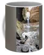 0941 Cascade Falls - Matthiessen State Park Coffee Mug