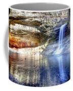 0943 Cascade Falls - Matthiessen State Park Coffee Mug