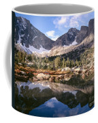 Cirque Of The Towers In Lonesome Lake 5 Coffee Mug