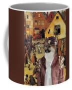 Icelandic Sheepdog Art Canvas Print  Coffee Mug