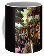 Irish Red And White Setter Art Canvas Print  Coffee Mug