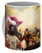 Irish Water Spaniel Art Canvas Print Coffee Mug