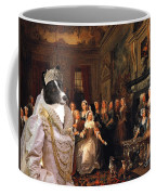 Karelian Bear Dog Art Canvas Print Coffee Mug