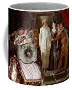 Keeshond Art Canvas Print Coffee Mug