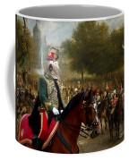 Komondor Art Canvas Print Coffee Mug
