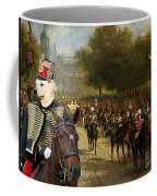 Kuvasz Art Canvas Print  Coffee Mug