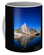 Prusik Peak Reflects In Gnome Tarn Coffee Mug