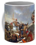 Swedish Vallhund  - Vastgotaspets Art Canvas Print Coffee Mug
