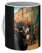 Wetterhoun Art Canvas Print Coffee Mug