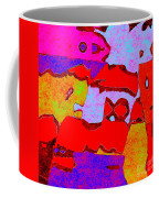 0319 Abstract Thought Coffee Mug