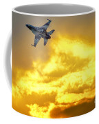 1-iaf F-16i Fighter Jet Coffee Mug