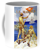 1917 - United States Marines Recruiting Poster - World War One - Color Coffee Mug