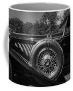 1929 Duesenberg Model J Covertible Coupe By Murphy Coffee Mug