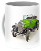 1931 Ford Model A Roadster Coffee Mug