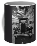 1931 Model T Ford Monochrome Coffee Mug