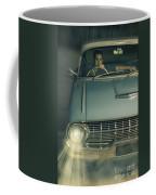 1950 Era American Car Culture  Coffee Mug by Jorgo Photography - Wall Art Gallery