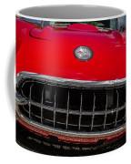 1958 Chevrolet Corvette Grille Coffee Mug