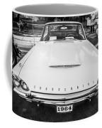 1964 Ford Thunderbird Painted Bw  Coffee Mug