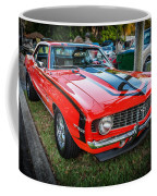 1969 Chevy Camaro Ss 396 Painted  Coffee Mug