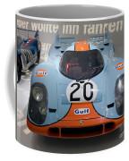 1970 Porsche 917 Kh Coupe Coffee Mug
