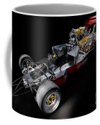 1974 Lola T332  F5000 Race Car V8 5 Litre Chassis Coffee Mug