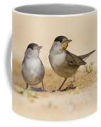 2 Male Eurasian Blackcap Coffee Mug
