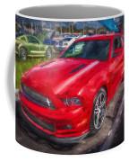 2013 Ford Mustang Gt Cs Painted  Coffee Mug