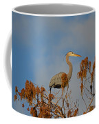 7- Great Blue Heron Coffee Mug