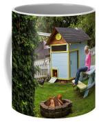 A Backyard Chicken Coop In Bellingham Coffee Mug