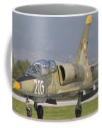 A Bulgarian Air Force L-39 Albatros Coffee Mug