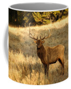A Bull Elk In Rut Coffee Mug