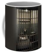 A Cell In Alcatraz Prison Coffee Mug by RicardMN Photography