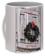 A Country Christmas Coffee Mug