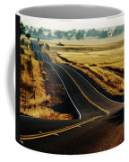A Country Road In The Central Valley Coffee Mug